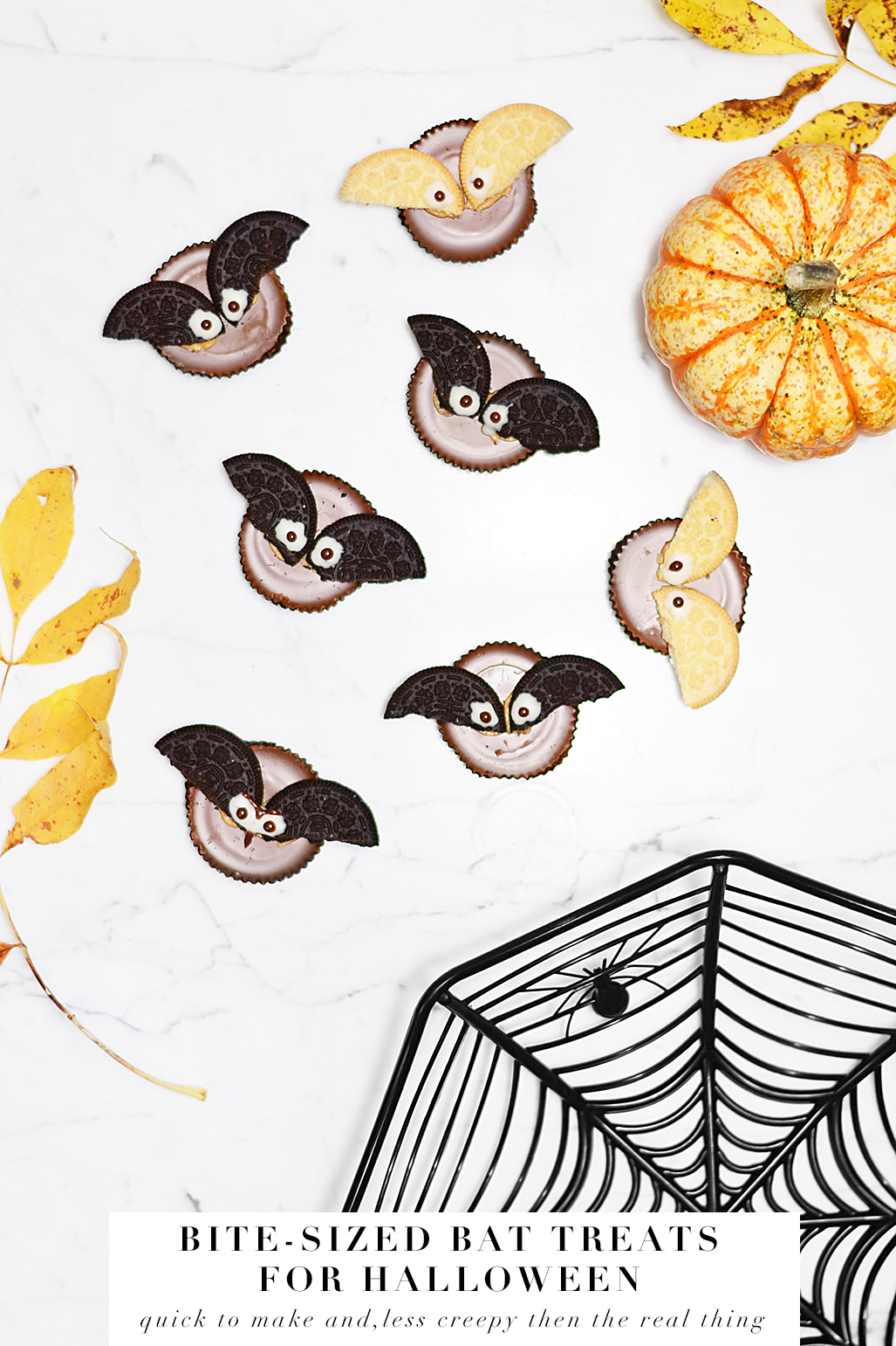 LAST MINUTE HALLOWEEN BAT TREATS