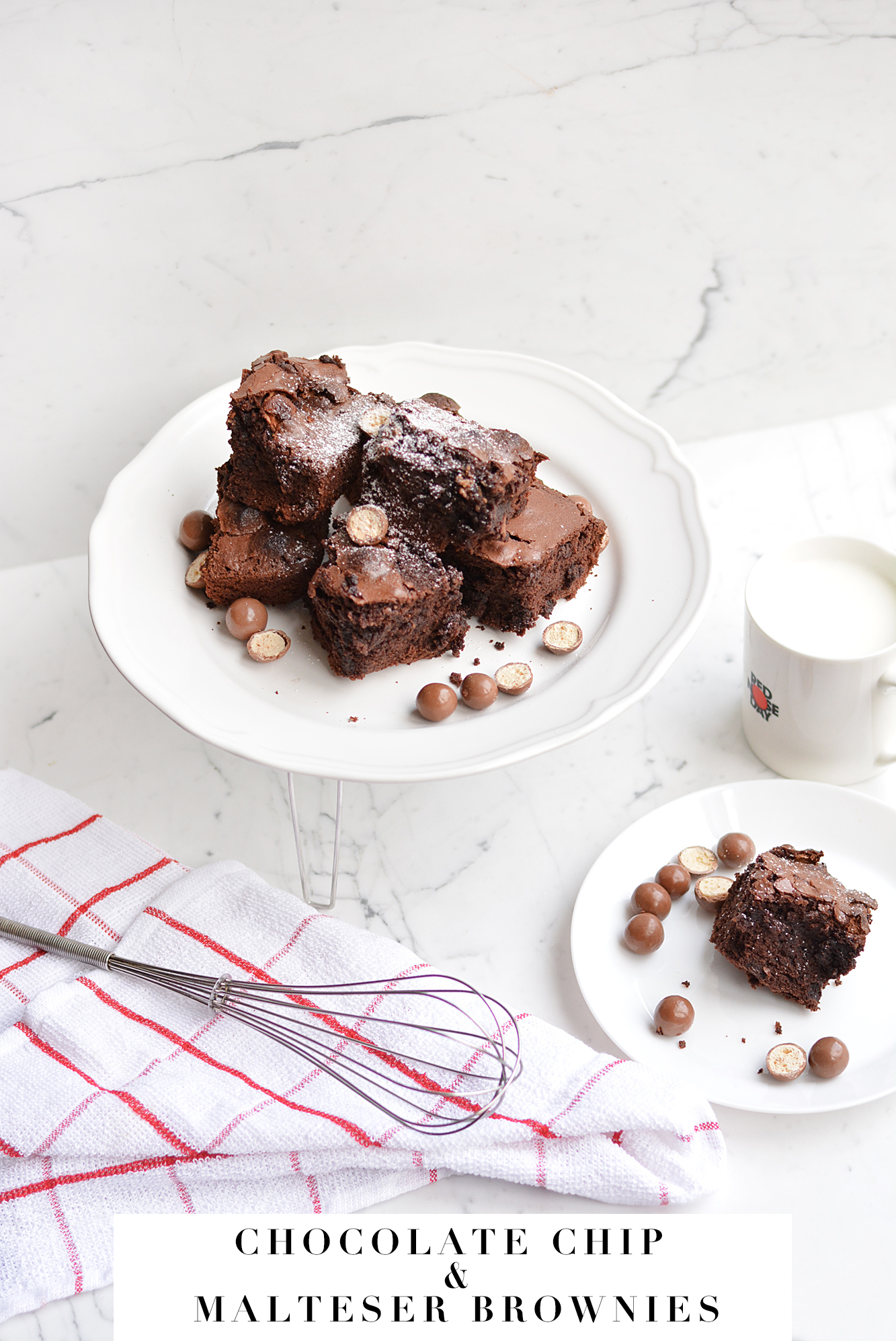 MALTESERS BROWNIES – BAKE A MASSIVE DIFFERENCE