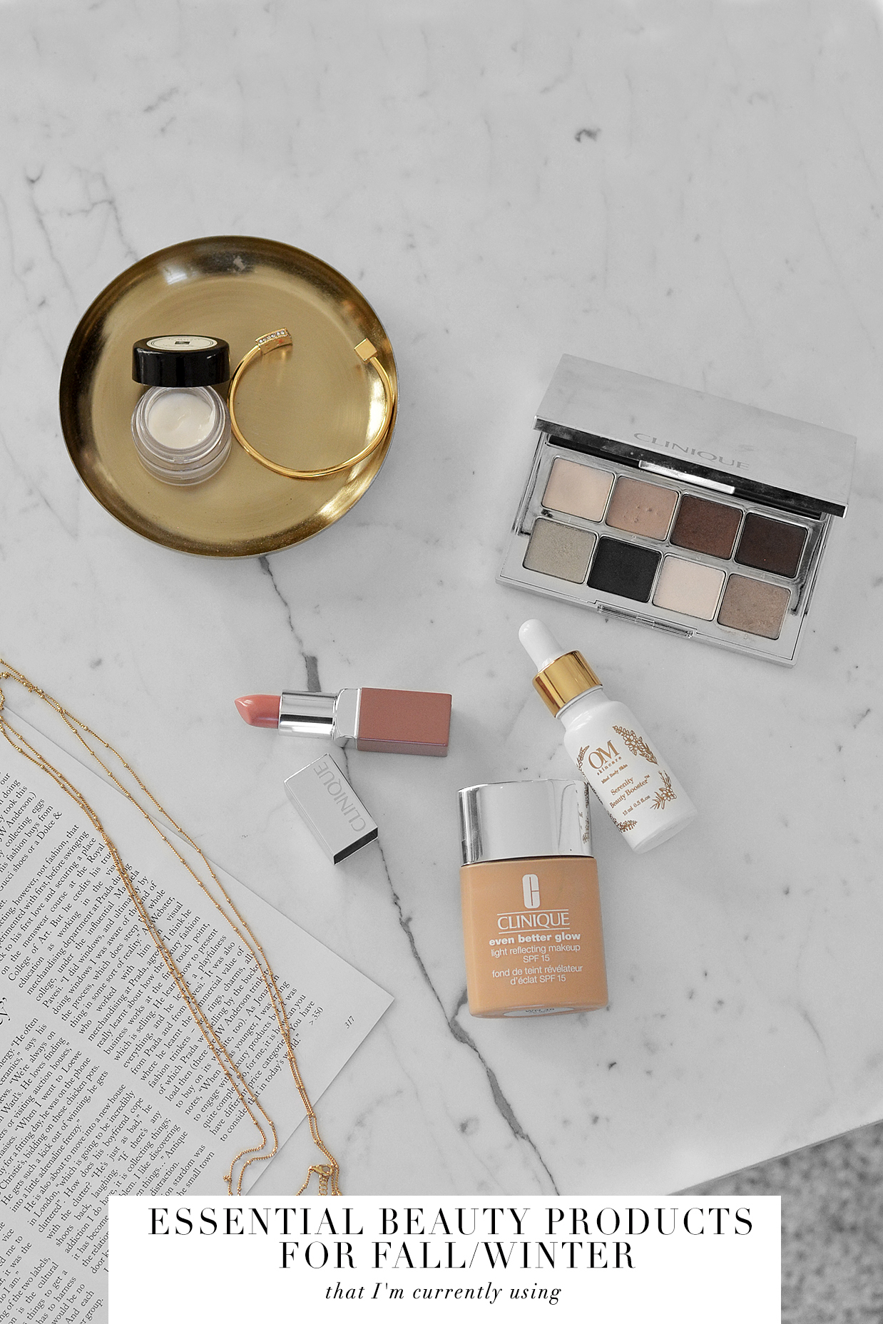 ESSENTIAL BEAUTY PRODUCTS I'M USING THIS FALL