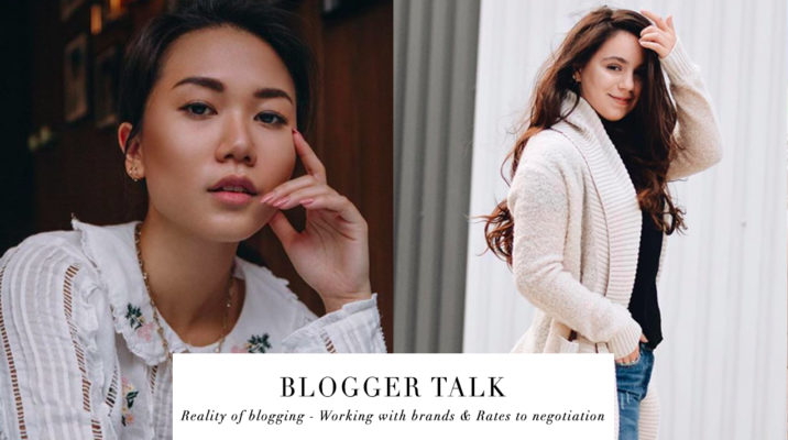 BLOGGER TALK: REALITY OF BLOGGING – WORKING WITH BRANDS & RATES